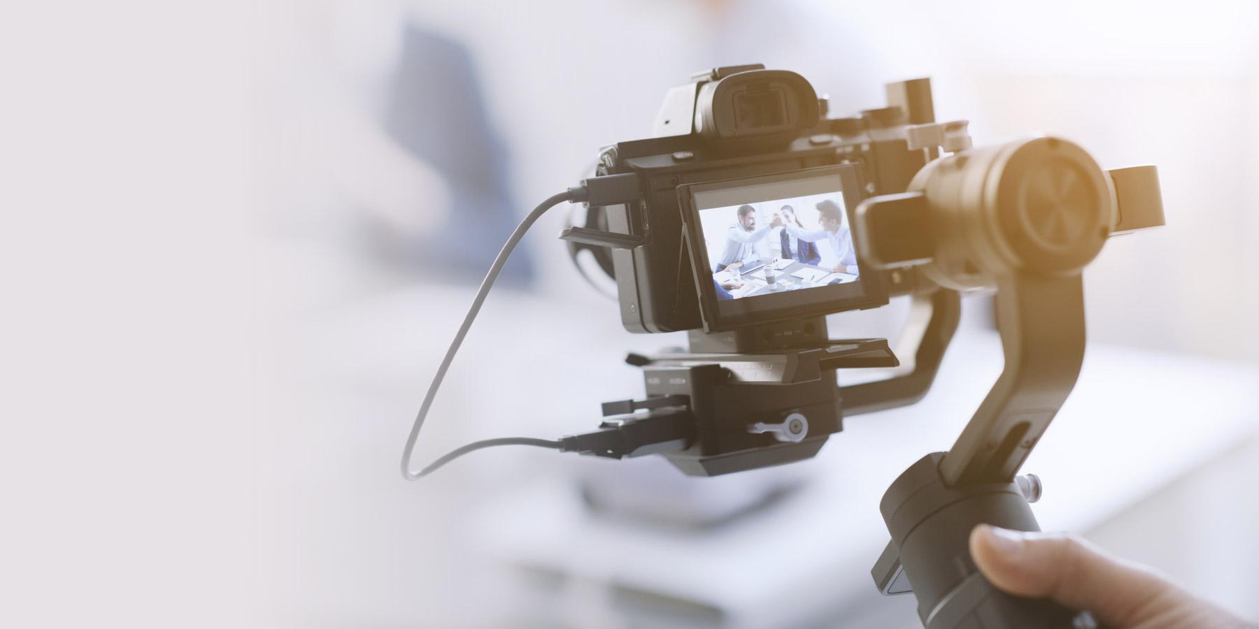 撮影パートナーの動画撮影